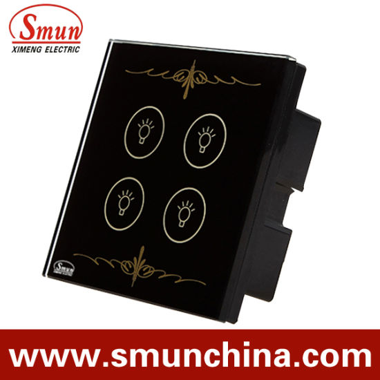 4 Gang Wall Switch, Tounch Switch, Remote Control Switch pictures & photos
