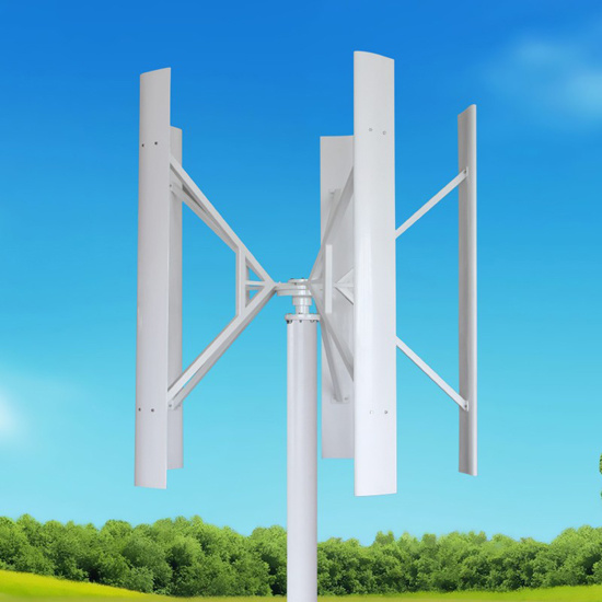 China Vawt 1kw 2kw 3kw 5kw Vertical Axis Wind Turbine For