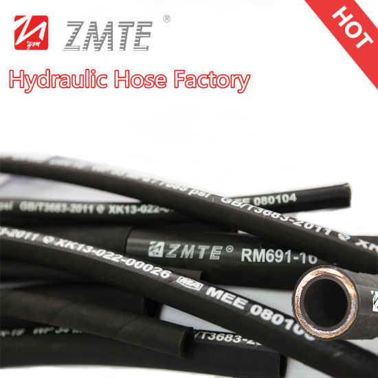Multi-Spiral Hydraulic Hose - Excavator Hose pictures & photos