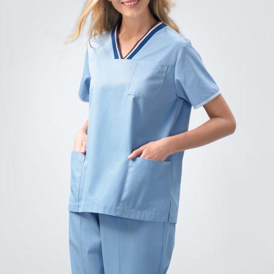 5fd062140a9 Nurse Scrub Suit Design, Medical Scrub, Hospital Medical Uniform pictures &  photos