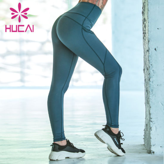 Custom Fitness Clothing Women Gym Pants High Waist Sports Quickly Dry Leggings