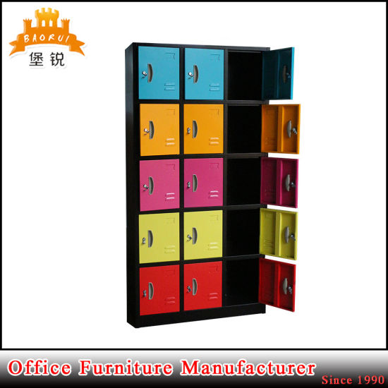 15 Door Metal Changing Room Locker for Storage pictures & photos