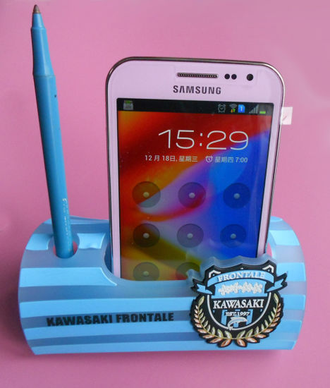 Mobile Phone Holder Made of Soft PVC (AS-Mobile Phone Holder-LU-168) pictures & photos