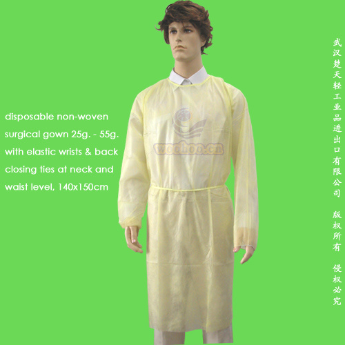 Disposable Nonwoven Surgical Gown