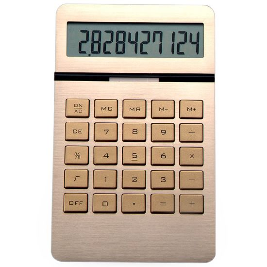 Luxury 10 Digit Scientific Electronic Calculator Office Gift