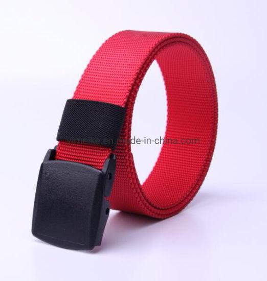 New Design Pearl Dots Men Sports Casual Nylon Fabric Belt
