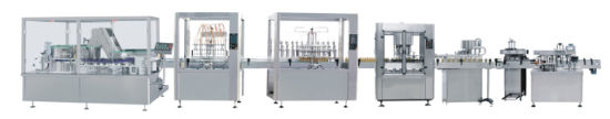 Plastic Bottle Syrup, Oral Liquid, Tincture Filling Line Linear Line