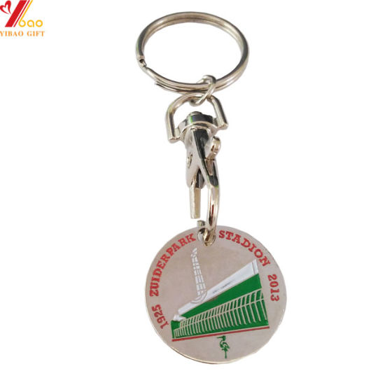 Made in China Promotion Custom 3D Logo Zinc Alloy Enamel Custom Shark Metal Key Chain/Open Keychain/Leather Keychain for Promotional Souvenir (YB-K-221)