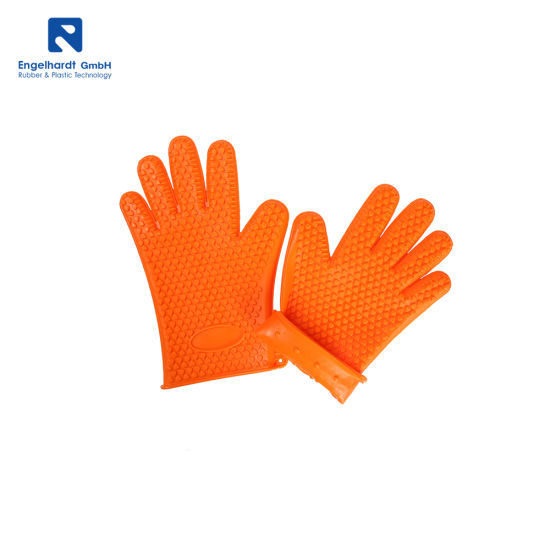 Kitchen Silicone Heat Resistant Oven Glove Cooking Silicone Glove