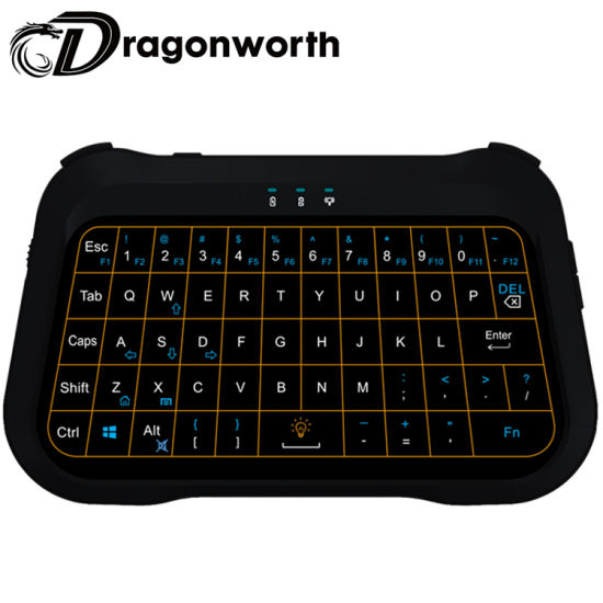 Pendoo New Type Commercial T18+ 2.4GHz RF Mouse Wheel Wireless Mini Combo Remote Keyboard Touchpad Set