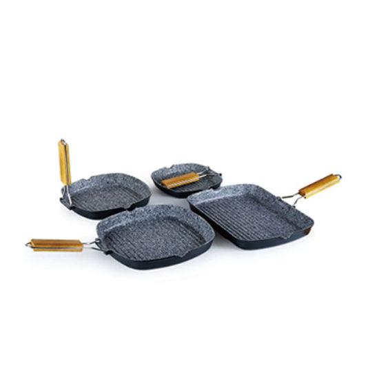 Die-Cast Aluminum Non-Stick Fry/Grill Pan Set