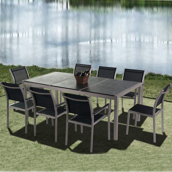 Garden Restaurant Dining Set Outdoor Table and Chair Furniture