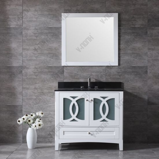 China Top Quality 36 Inch Granite Top Modern Bathroom Vanity China Bathroom Cabinet Bathroom Vanity