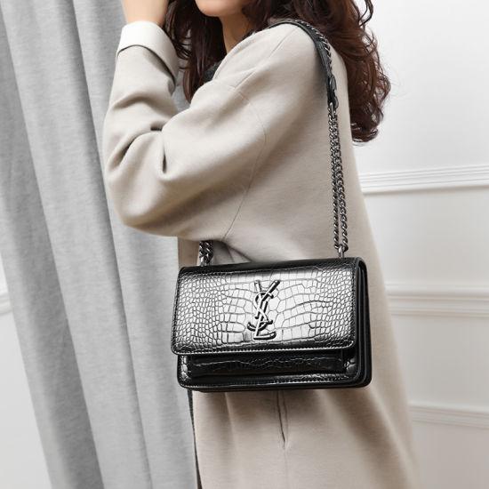 Guangzhou Factory Stocks Wholesale Market New Luxury PU Leather Fashion Designer Women Bag Female Fashionable Tote Ladies Handbag