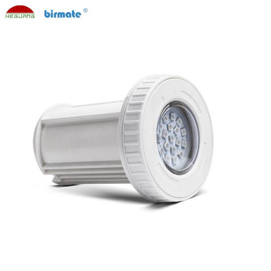 3W 12V Plastic Material IP68 Waterproof LED Underwater Swimming Pool Light Lamp
