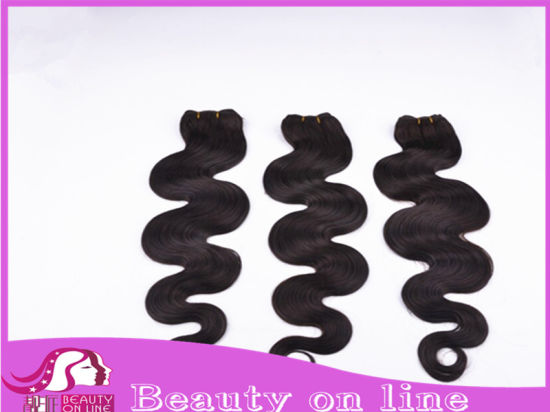 Remy Human Hair Extensions, Human Hair Weft (BHF-BC003)