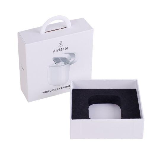 Custom Wireless Charging Airpods Earbuds Earplugs Earphone Packaging Paper Box