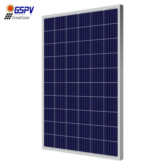 250W 260W Polycrystalline Solar Panel with Excellent Quality in China