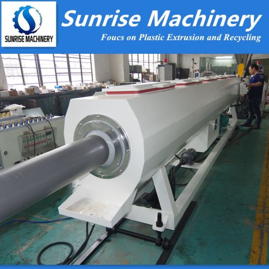 Twin Screw Extruder PVC Pipe Extrusion Making Plant
