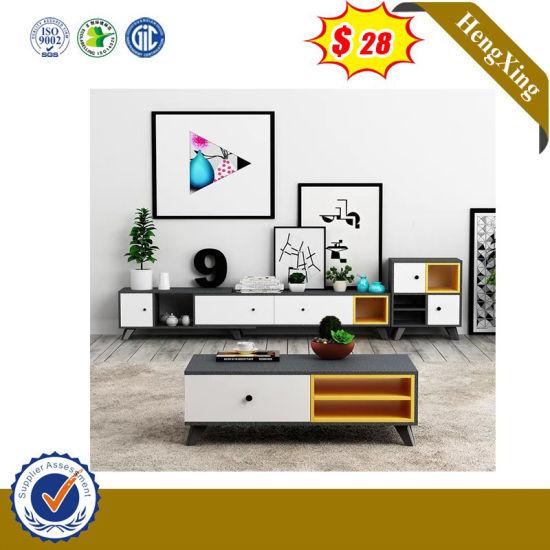 MID-Century Modern Bluetooth Entertainment Center Plastic TV Cabinet (HX-8NR0959)