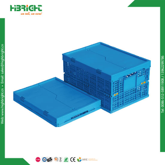 Storage Box Plastic Collapsible Home Storage Crate Box