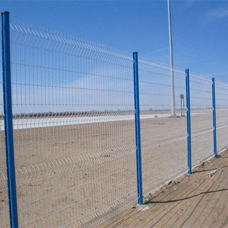 Galvanized & PVC Coated Wire Mesh Fence China Wholesale