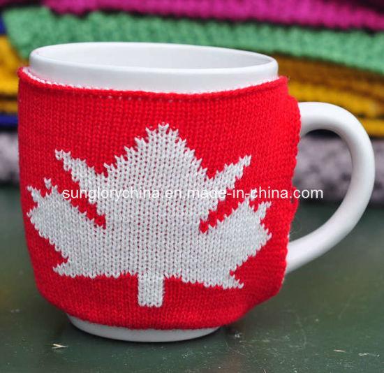 Knitted Design Ceramic Mug of Mkb185