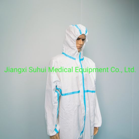Disposable Coverall Protective Clothing with Shoe Cover