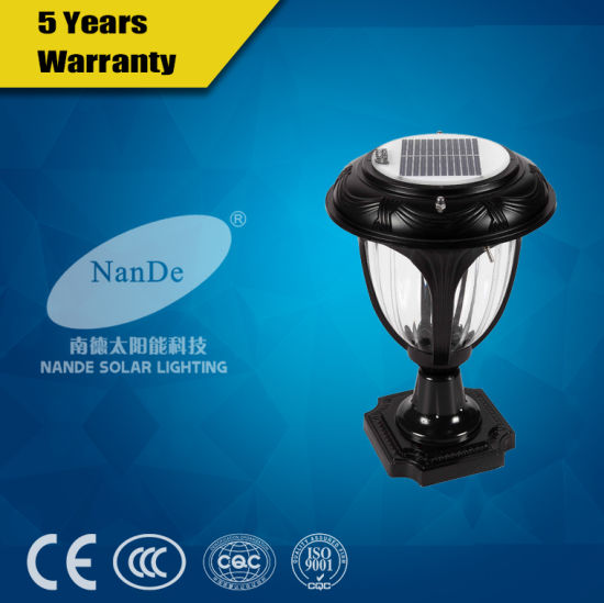 Solar Led Post Light In Modern Style For Outdoor Pictures Photos