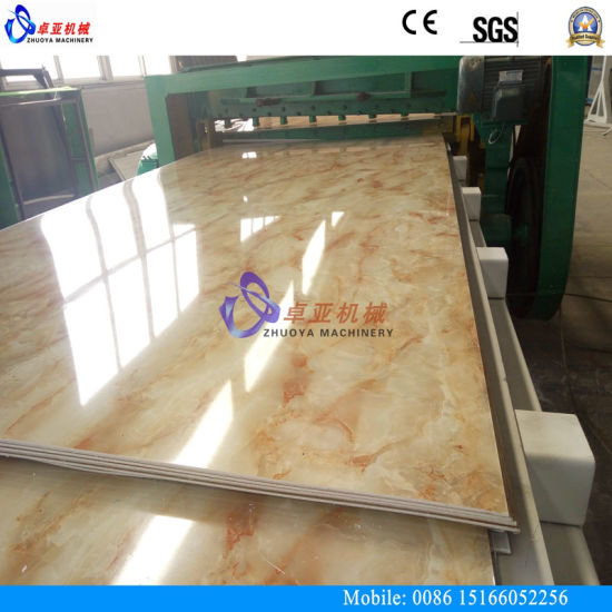 PVC Marble Interior Decoration Panel Extruder pictures & photos