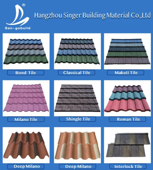 China Types Of Roof Covering Materials Roofing Sheet Roman Tile