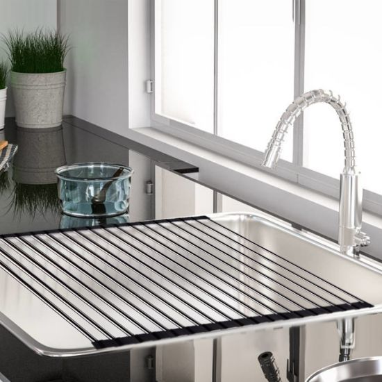 New Item Durable Silicone Dish Rack pictures & photos
