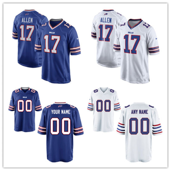 official photos ada08 43f9d Men Women Youth Bills Jerseys 17 Josh Allen Football Jerseys
