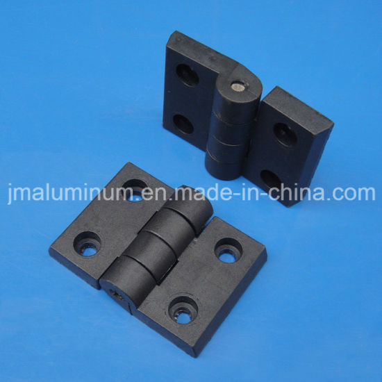 China 70 X 50mm H4545 Plastic Hinges Black Scharnier For