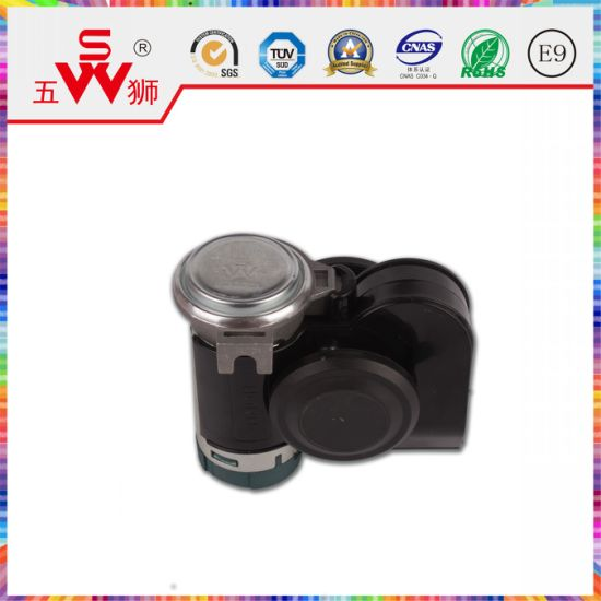 Black ABS Snail Horn for Car Parts pictures & photos