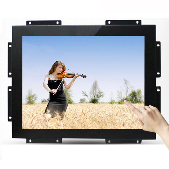 China 19 Inch TFT LCD Embedded Open Frame USB / RS232 Resistive ...