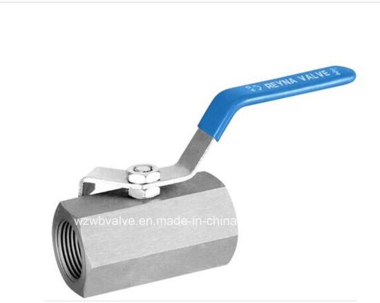 1PC Hex Carbon Steel Ball Valve with Thread Ends