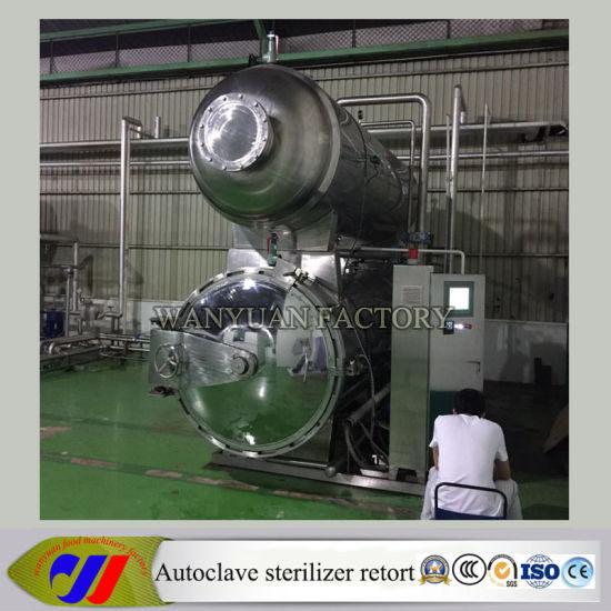 China Automatic Hot Water Spray Sterilizer Retort - China