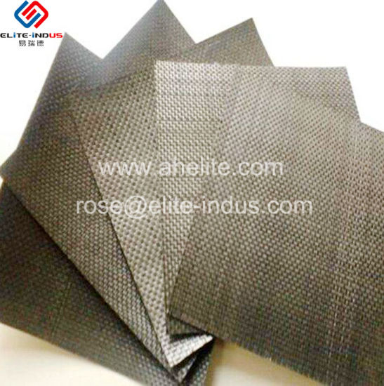 Split Yarn (flat slik) PP Woven Geotextile Factory/Manufacturer/Supplier pictures & photos