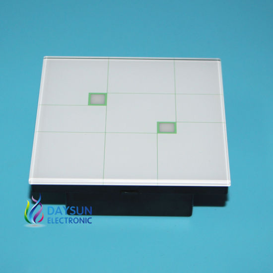 China 2gang 2 Way Wall Touch Switch Simple Elegant Design