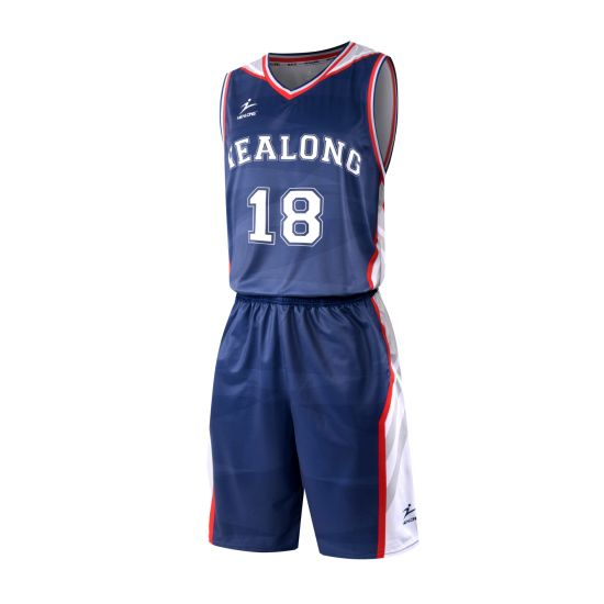 518dadd2f2d Latest Basketball Jersey Design Polyester Wholesale Custom Cheap Basketball  Uniform Set pictures   photos