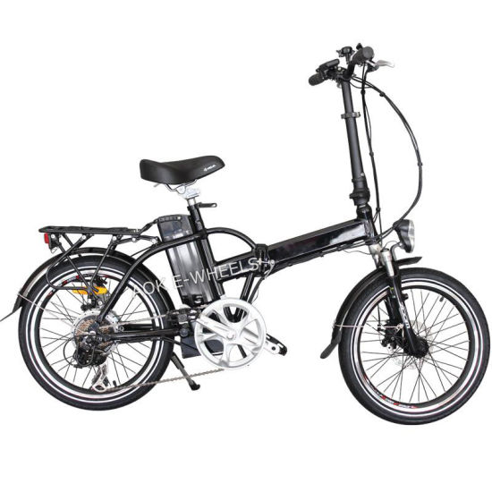 250W 36V City Light Lithium Battery Electric Bicycle (TDE-039Z)