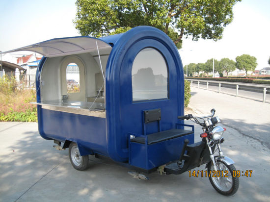 Electric Tricycle Scooter Mobile Fast Food Carts (SHJ-E360) pictures & photos