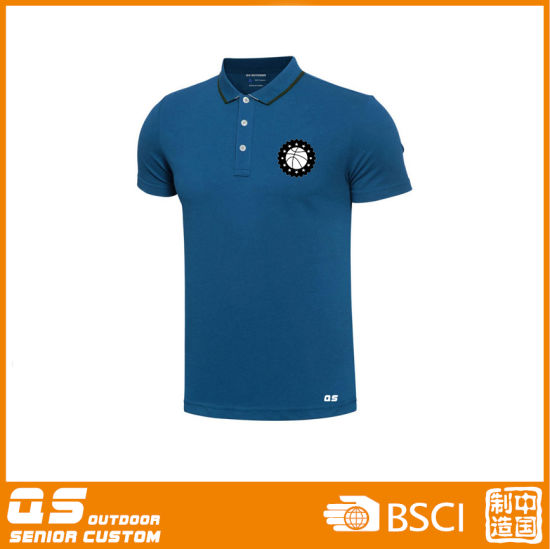 Men's Sports Polo Dry Fit T-Shirt