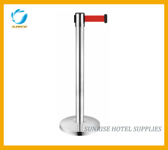 Hotel Crowd Control Barrier Queue Pole pictures & photos