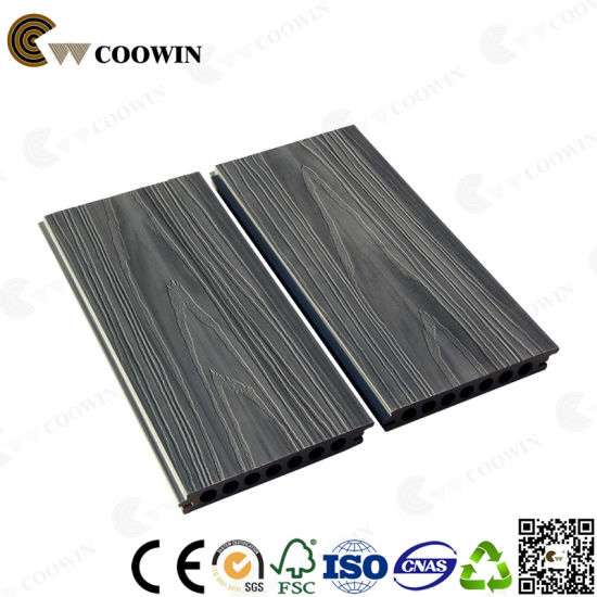 Manufactured Terrace Decking Coowin WPC Decking Floor pictures & photos
