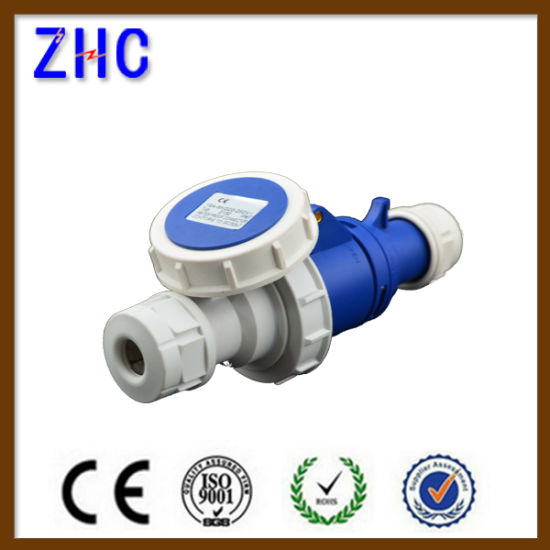 Industrial Electric Power Switch Extension Wall Plug Socket