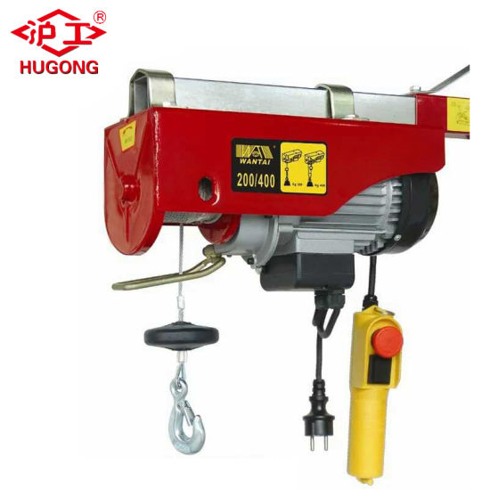 PA 600kg Mini Electric Small Crane Hoist pictures & photos