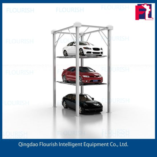 Multi Floor Vertical Stacker Parking Lift Parking system Car Lift