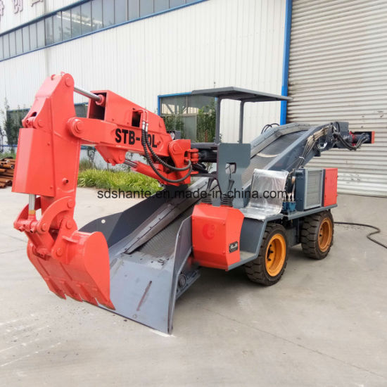 Underground Electric Power Mineral Tunnelling Loader